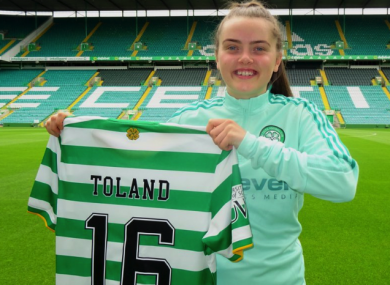 Tyler Toland is officially a Celtic player.