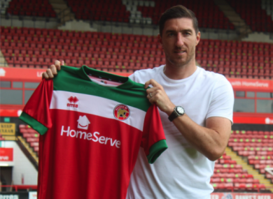 Done deal: Stephen Ward has joined Walsall.
