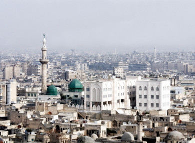 Aleppo, Syria in 2010 before the war