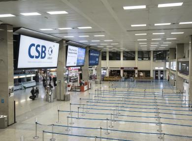Malta's international airport.