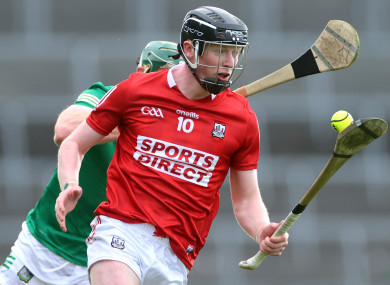 Conor Cahalane in action for Cork against Limerick.