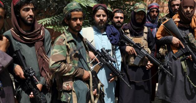 Three people killed as Taliban break up protest