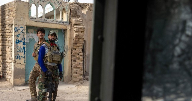 Taliban near gates of Kabul as US prepares to fly out thousands of officials