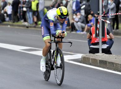 Intermarche-Wanty Gobert rider Rein Taaramae.