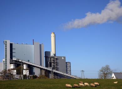 Lough Ree power station Co Roscommon