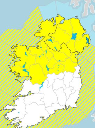 Status Yellow warning in place.