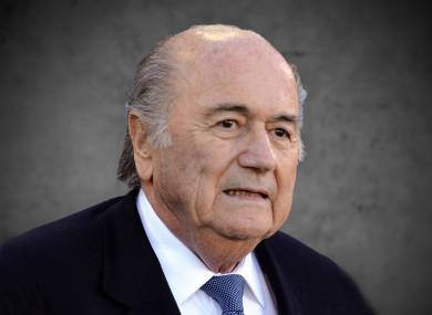 Sepp Blatter (file photo)