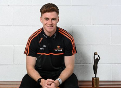 Conor Meyler, PwC GAA/GPA Player of the Month for September.