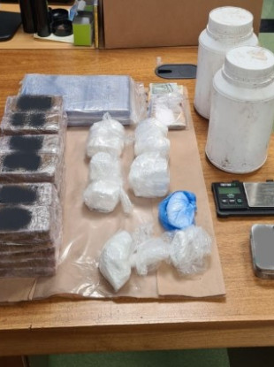Gardaí in Cork seized the drugs on Friday.
