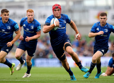 Van der Flier was man of the match for Leinster against the Bulls.