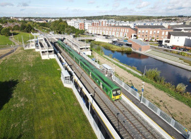 Pelletstown Station is now open. Journey time to Dublin city centre is 12 minutes.