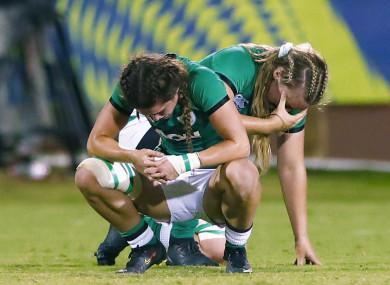 Ireland came up short against Scotland on Saturday.