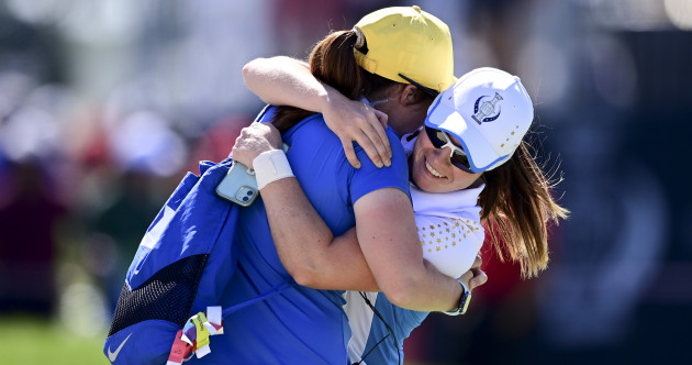 Leona Maguire completes dream week at the Solheim Cup with stunning singles win