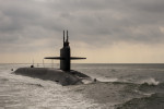 File image: A US Navy Ohio-class nuclear-powered sub.