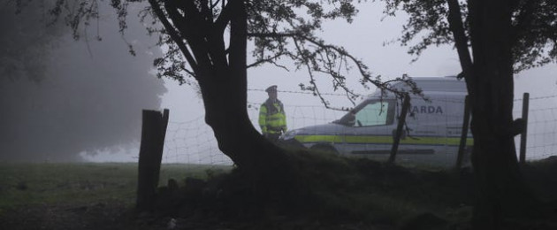 Gardaí launched the search after a review of the evidence identified the woodland as 'an area of interest'.