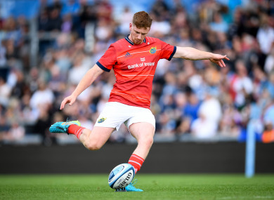 Healy starts at 10 for Munster.