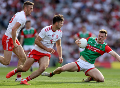 Action from this year's All-Ireland football final.