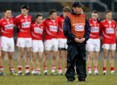 John Cleary before the Munster U21 final in 2013.