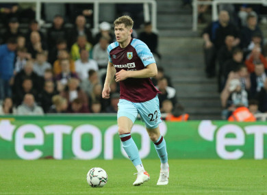 Nathan Collins has already made his Premier League debut for Burnley.