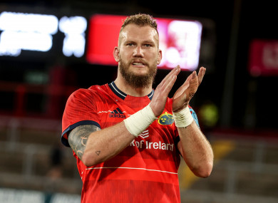 Snyman is set for another long spell on the sidelines.