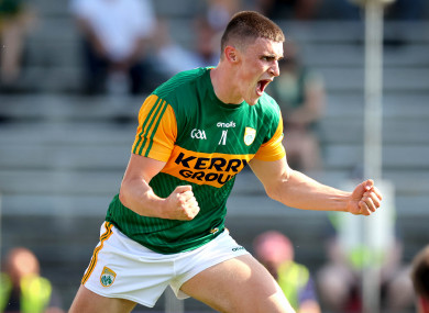 Sean O'Shea excelled for Kenmare Shamrocks.